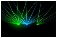 Laser im Einsatz