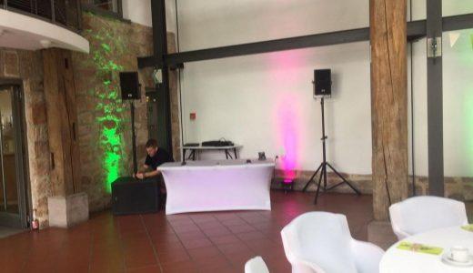 DJ-Aufbau