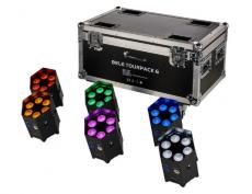 6x LED-Spot im Ladecase